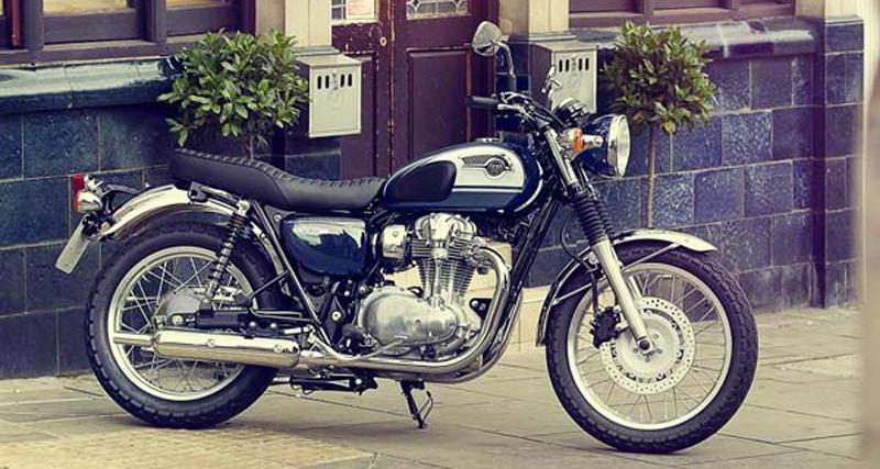 आने वाली है बुलट व हार्ले बाइक को टक्कर देनी वाली Kawasaki W800