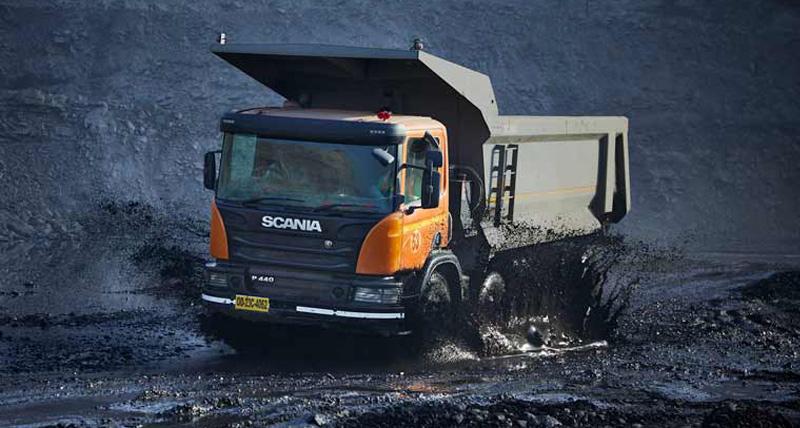 माइनिंग के लिए खास है Scania का यह Tipper ट्रक