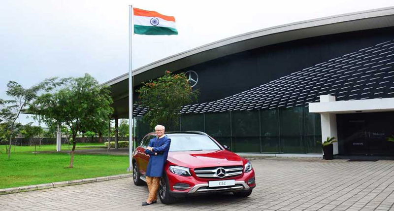 Mercedes GLC का सेलिब्रेशन एडिशन लॉन्च