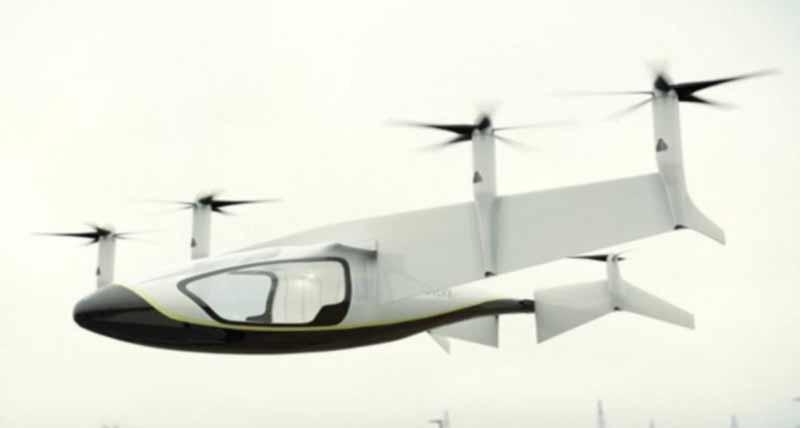 Rolls Royce की Flying Taxi आसमान उडेगी