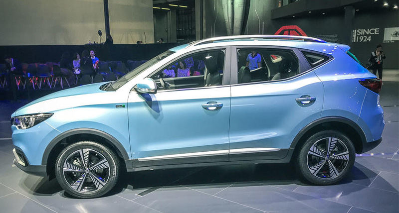 MG ने eZS इलेक्ट्रिक कार की अनवील