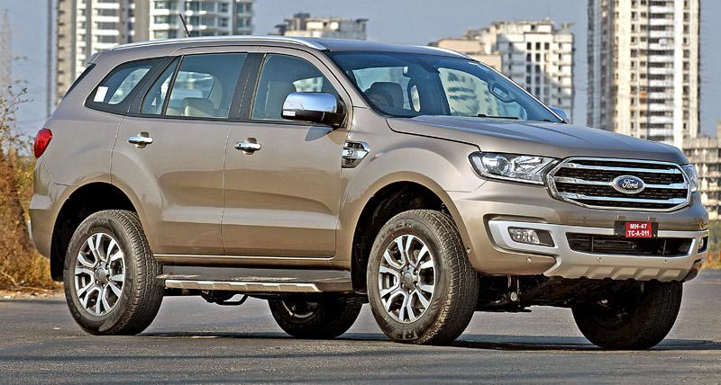 2019 Ford Endeavour Facelift भारत में लॉन्च, कीमत...