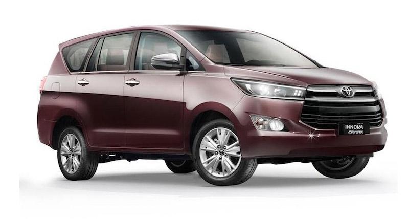 Toyota Innova Cysta G Plus वेरिएंट भारत में लॉन्च, कीमत...