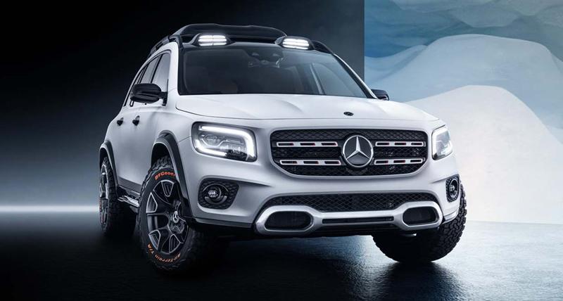 Mercedes-Benz ने GLB SUV को किया Reveal, जानें फीचर्स