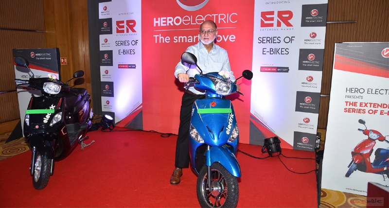Hero Electric Optima और Nyx extended range versions लॉन्च