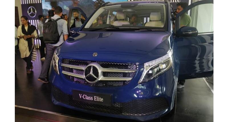 Mercedes Benz ने भारतीय बाजार में उतारा V Class Elite MPV, जानें कीमत...