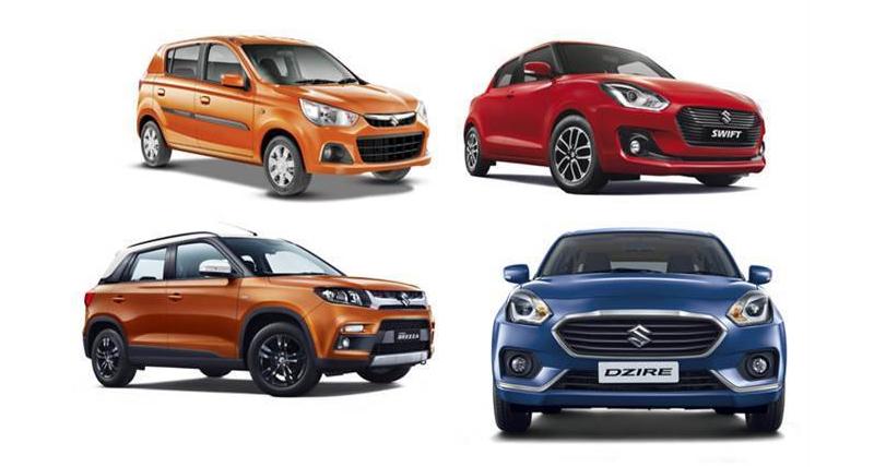 Maruti Suzuki के वाहनों की बिक्री नवंबर में 1.9 फीसदी घटी