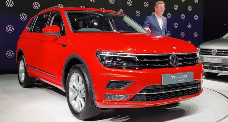 Volkswagen Tiguan AllSpace भारत में लॉन्च, ये है कीमत और फीचर्स