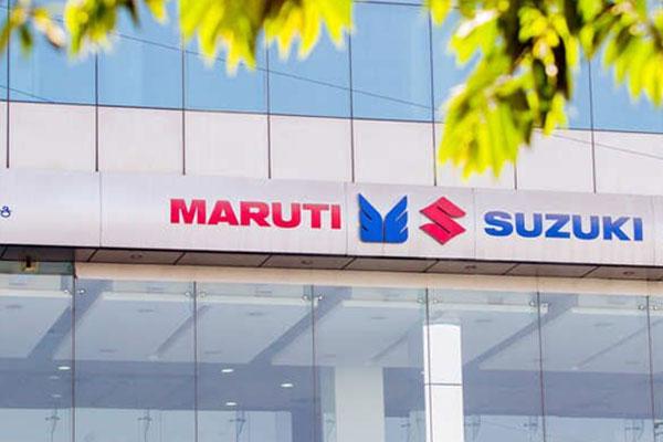 मारुति सुजुकी ने अप्रैल में 159,691 वाहनों की बिक्री की