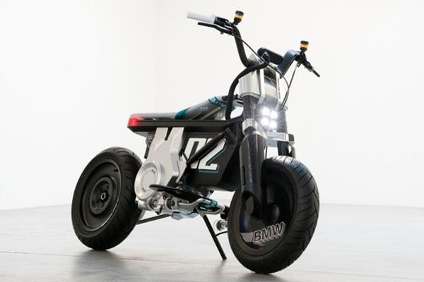 बीएमडब्ल्यू ने पेश की सीई 02 इलेक्ट्रिक मिनी बाइक