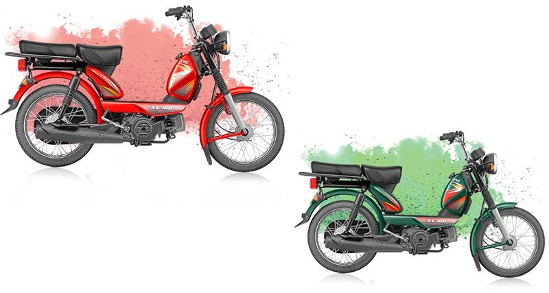 Iautoindia Tags Tvs Xl 100 4 Stroke Moped Price
