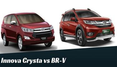 Toyota Innova Crysta Vs Honda BR-V: कौन किससे बेहतर
