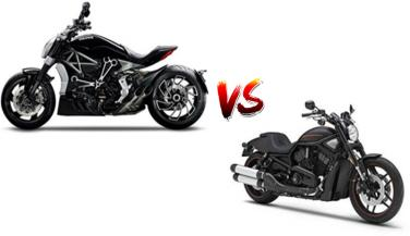 Comparison between Ducati XDiavel Vs Harley-Davidson V Rod - Cruiser Bike News in Hindi