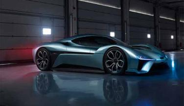 Chinese electric car company NextEV display its new electric supercar has Nio ep9. The company claimed that this car is the worlds most fast electric supercar. - Sports Car News in Hindi