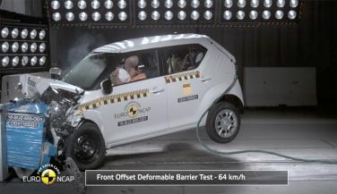 Suzuki Ignis get 5 Star ranking in Euro NCAP crash test - Economy Car News in Hindi