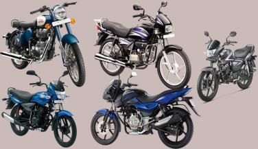 देश की सबसे ज्यादा बिकने वाली टाॅप 10 मोटरसाइकिलें