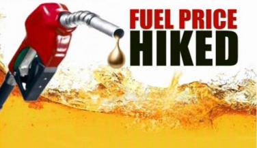 पेट्रोल 2.21 रूपए व डीज़ल 1.79 रूपए महंगा