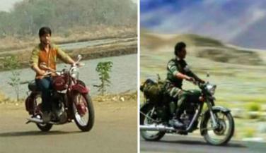 फिल्मों में झलकता है Shahrukh Khan का बाइक लव