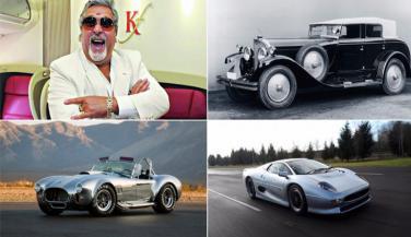 Vijay Mallya के खेमे से निलाम हुई ये कारें, करोड़ों में है कीमत