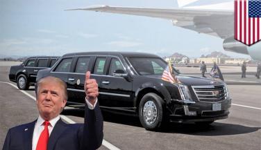इस लग्ज़री कार में सफर करेंगे Donald Trump