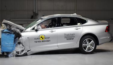Volvo S90 को मिली टाॅप क्लास सेफ्टी रैंकिंग
