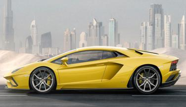 Lamborghini recently unveiled the new version of its flagship supercar, the Aventador S, globally. - Sports Car News in Hindi