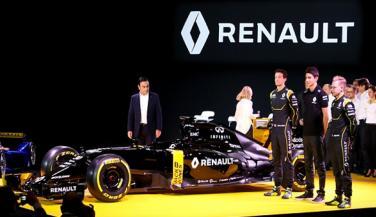 Renault ने लाॅन्च की Formula-1 रेसिंग कार