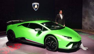 Sports Car company Lamborghini launched a powerful modal of Huracan Series in India - Sports Car News in Hindi