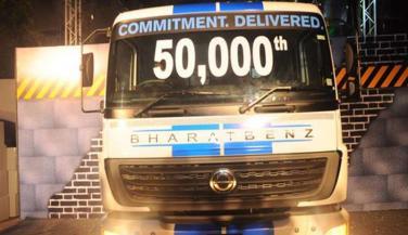 पिछले 5 सालों में DAIMLER ने बेचे 50 हजार ट्रक