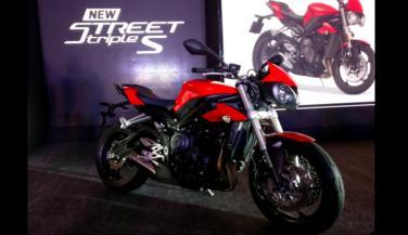 भारत में लाॅन्च हुई TRIMPH की नई बाइक, देखें इसकी स्पीड …