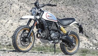 Ducati ने लॉन्च की अपनी आॅफ रोडर Scrambler Desert Sled