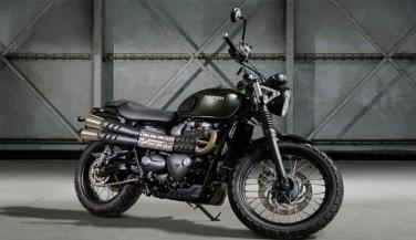 The name of the bike is Street Scrambler, which is a naked motorcycle. This bike has been entire modern classic range in India ... - Cruiser Bike News in Hindi