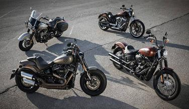 Harley Davidson launches four new motorcycles in india - Sports Bike News in Hindi