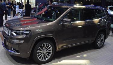 Jeep ने बीजिंग मोटर शो में लॉन्च की Grand Commander