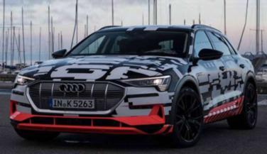 ऑडी की इलेक्ट्रिक ई-ट्रॉन कार अगस्त में होगी लॉन्च