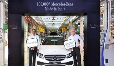 मर्सिडीज बेंज ने भारत में उतारी एक लाखवीं कार