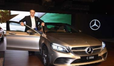 नई Mercedes Benz सी क्लास लांच, कीमत 40 लाख रुपए