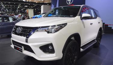 2018 Toyota Fortuner TRD Sportivo 2 थाईलैंड में लॉन्च