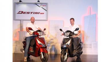Destini 125 देशभर में बिक्री के लिए उपलब्ध, जानें कीमत व फीचर्स