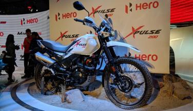 भारत में लॉन्चिंग से पहले यहां Hero XPulse 200 शोकेस्ड
