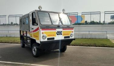 Shell showcased OX flat-pack truck - Trucks News in Hindi