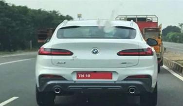 BMW की ये कार टेस्टिंग के दौरान आई नजर