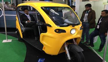 ईवी एक्स्पो में केईटीओ ने लॉन्च किए ई-ऑटोरिक्शा