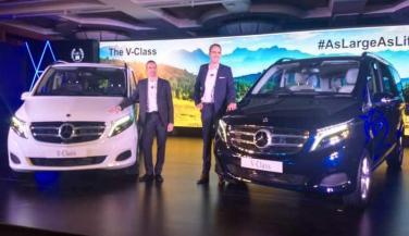 Mercedes Benz ने लॉन्च की V-Class, ये है कीमत