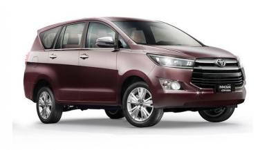 Toyota Innova Crysta G Plus Variant launched in India, price... - Compact Car News in Hindi