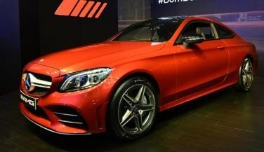 Mercedes Benz launches AMG C 43 4MATIC Coupe in India priced at Rs 75 lakh