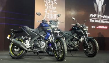 Yamaha launches mt-15 bike, see... - Standard Bike News in Hindi
