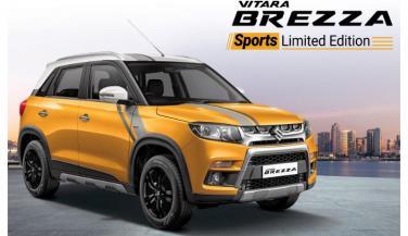 Maruti Suzuki Vitara Brezza Sports Edition भारत में लॉन्च, कीमत...