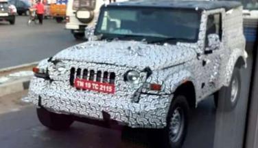 2020 महिंद्रा थार टेस्टिंग के स्पॉट, जानें कैसा होगा नई SUV का अवतार