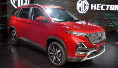 MG Hector launched in India, see... - Compact Car News in Hindi